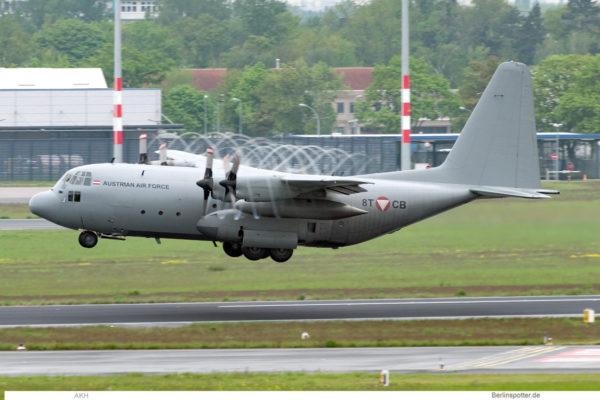 Austrian Air Force, Lockheed C-130K Hercules 8T-CB (BER 18.5.2021)
