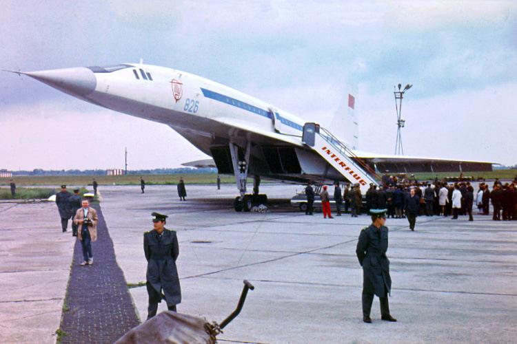 Aeroflot Tupolev Tu-144 CCCP-68001 (SXF 13.-17.6.1971)