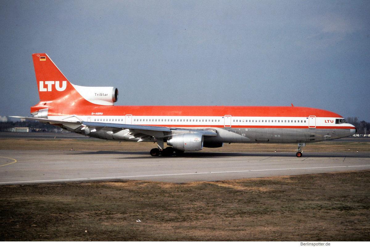 LTU, Lockheed L-1011-100 TriStar D-AERU (TXL 04/1993)