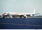 Saturn Airways, Douglas DC-8-61CF N8956U (TXL frühe 1970er Jahre)