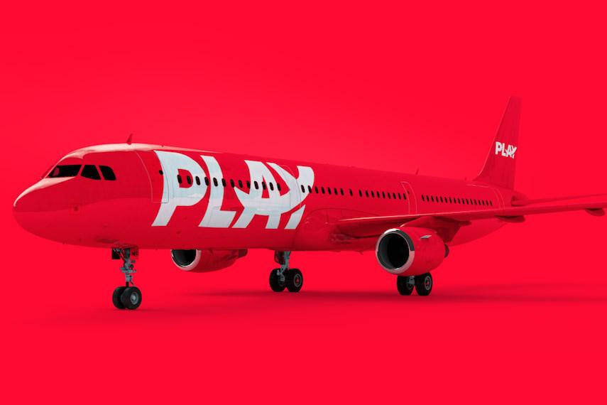 Play Airbus A321neo (Grafik: Play)