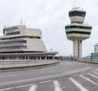 Auffahrt zum Flughafen Tegel (Foto: FBB)
