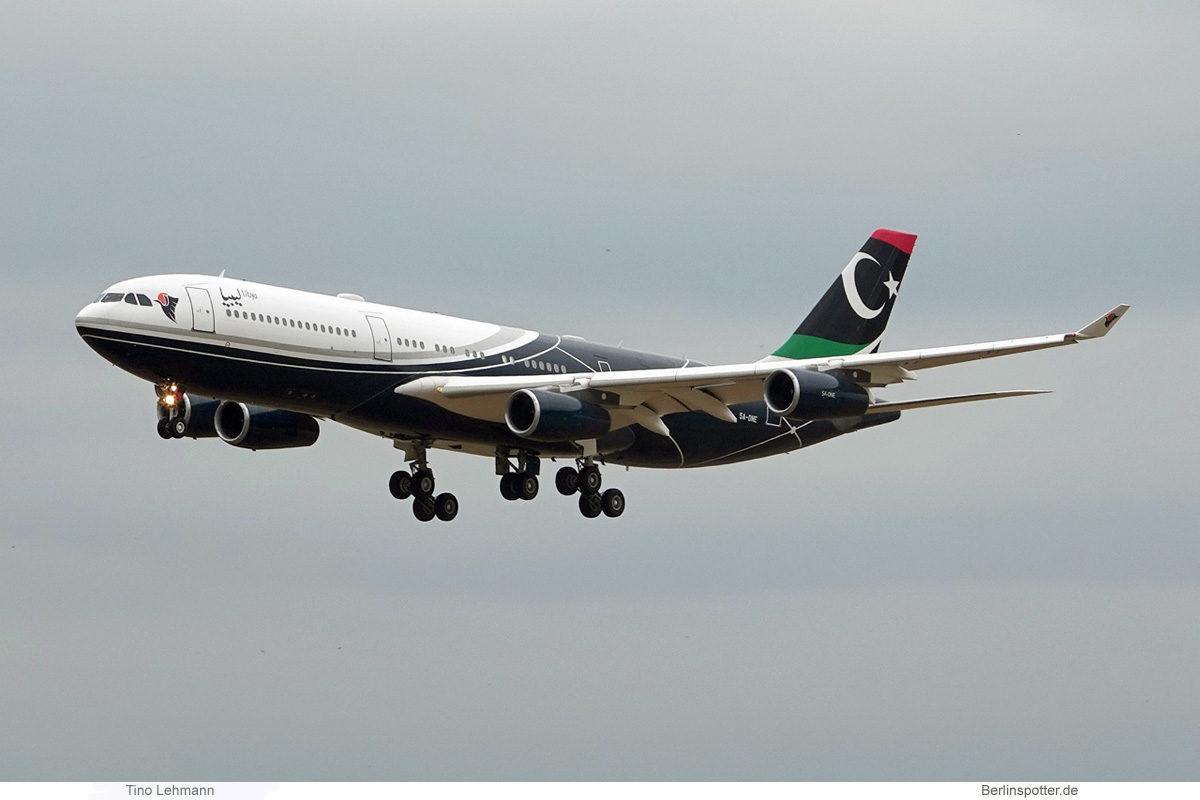 Libya Gvmt., Airbus A340-200 5A-ONE (BER 22.6.2021)