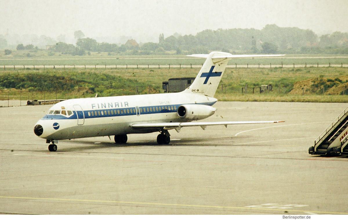 Finnair, Douglas DC-9-15 OH-LYK (SXF 1970er Jahre)