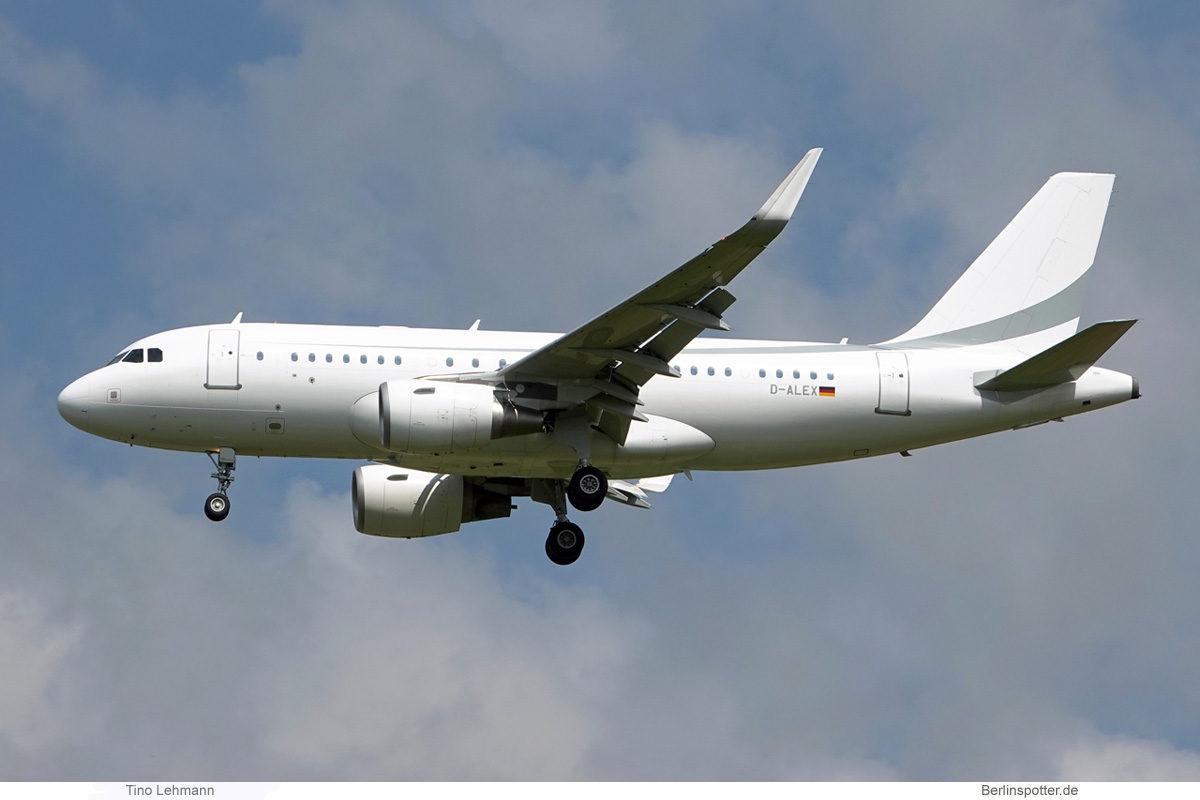 K5 Aviation, Airbus A319CJ (BER 15.7.2021)