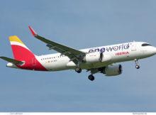 Iberia, Airbus A320neo EC-NFZ, Oneworld-Lackierung (BER 15.9.2021)