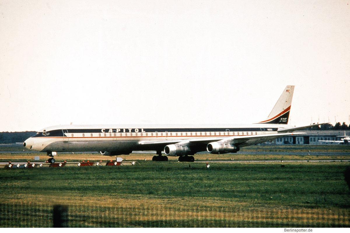 Capitol International Airways, Douglas DC-8-61CF N801U (TXL 24.6.1968)