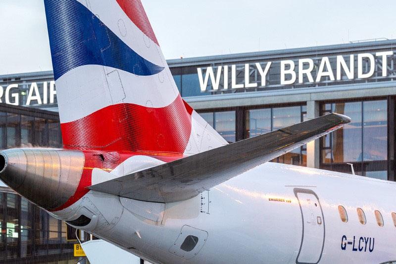 British Airways am BER T1 (Foto: FBB)