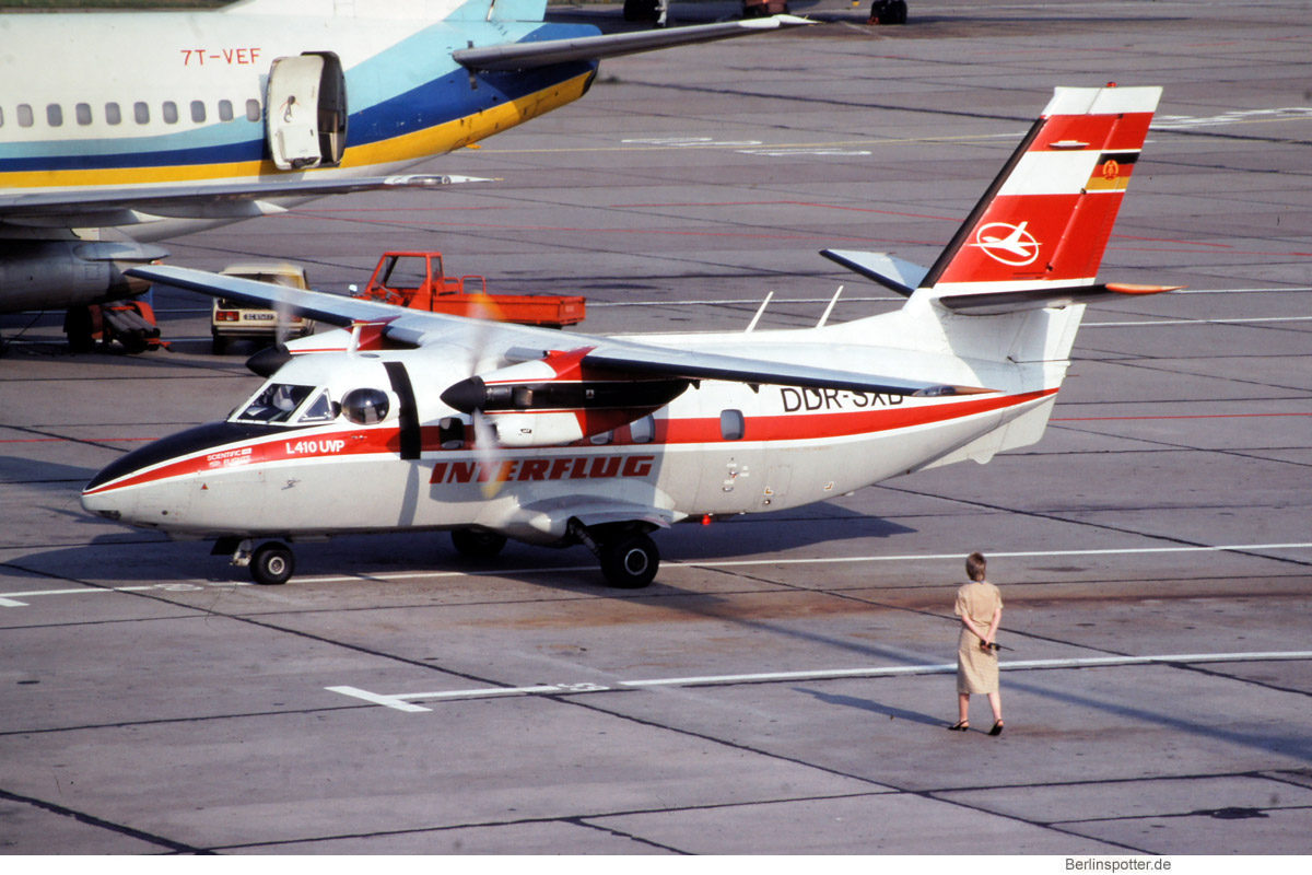 Interflug, Let L-410UVP DDR-SXB (SXF 1990)