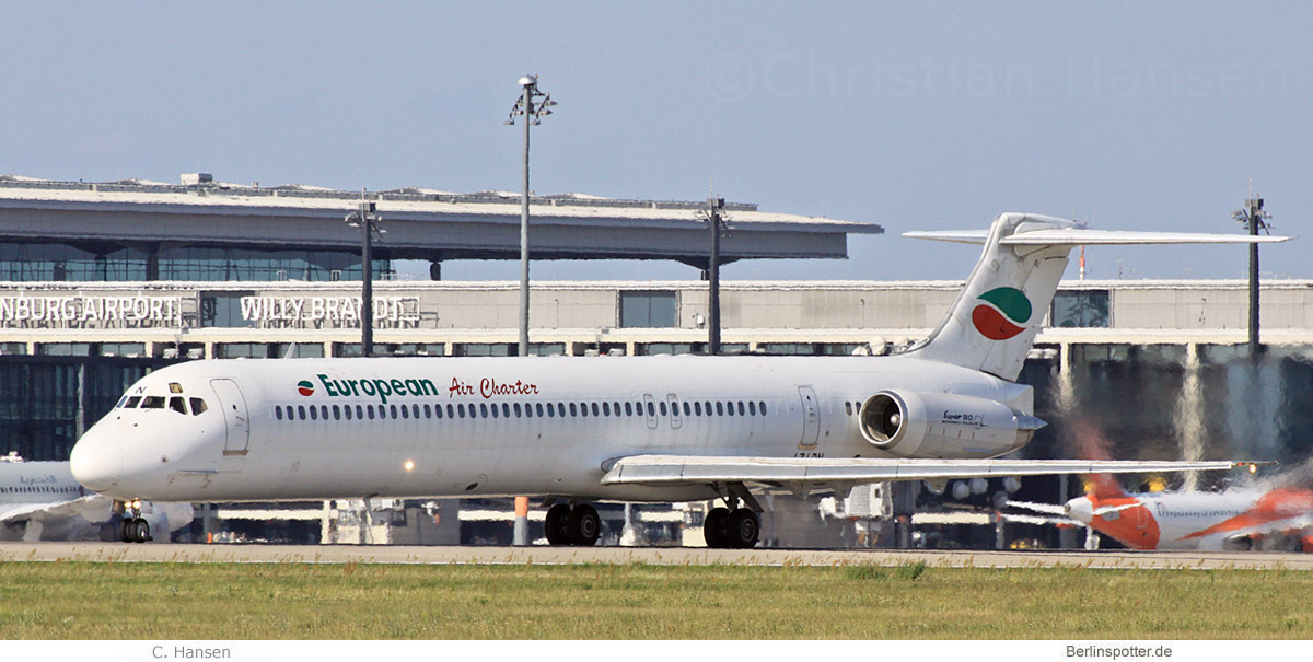 European Air Charter, MD-82 LZ-LDN (BER 15.8.2021)