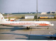 CSA Ceskoslovenske Aerolinie, Ilyushin Il-18 OK-PAH (SXF 30.7.1978)