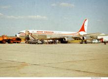 Air India, Boeing 707-337B VT-DPM (SXF ca. 1976)