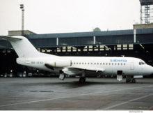 Delta Air Transport (opf Sabena), Fokker 28-3000 OO-DJA (THF 1990er Jahre)