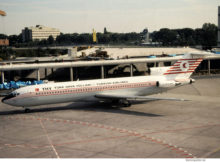 Turkish Airlines, Boeing 727-200 TC-JBF (TXL 10/1991)