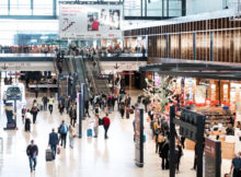 Reiseverkehr im Terminal 1 (Foto: FBB)