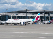 Eurowings am Flughafen Berlin Brandenburg BER (Foto: FBB)