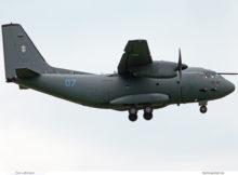 Lithuanian Air Force, Alenia C27J Spartan '07' (BER 15.9.2021)