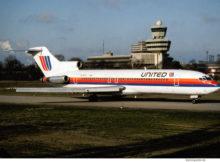 United Airlines, Boeing 727-200 N7457U (TXL 1991/92)