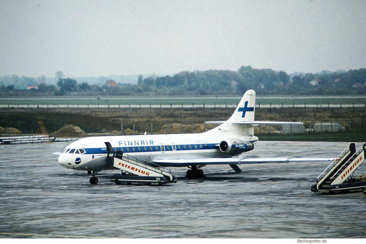 Finnair, SE-210 Caravelle 10B OH-LSG (SXF ca. 1978)