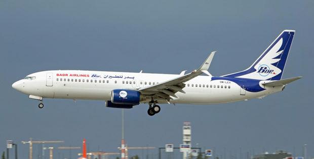 Badr Airlines, Boeing 737-800(WL) OM-LEX (BER 22.10.2021)