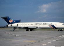 JAT Yugoslav Airlines, Boeing 727-200 YU-AKG (TXL 8.8.1991)